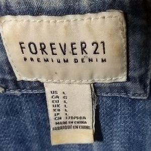 Forever 21 Jackets & Coats - Forever 21 Jean Jacket Size Large